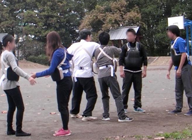 武道練習風景